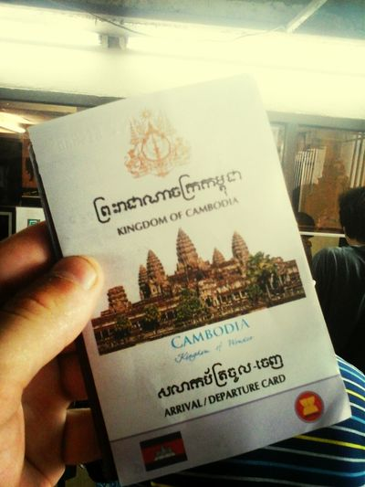 Welcome to Cambodia and be patient on the borders smysl nema cenu hledat vubec v nicem :D