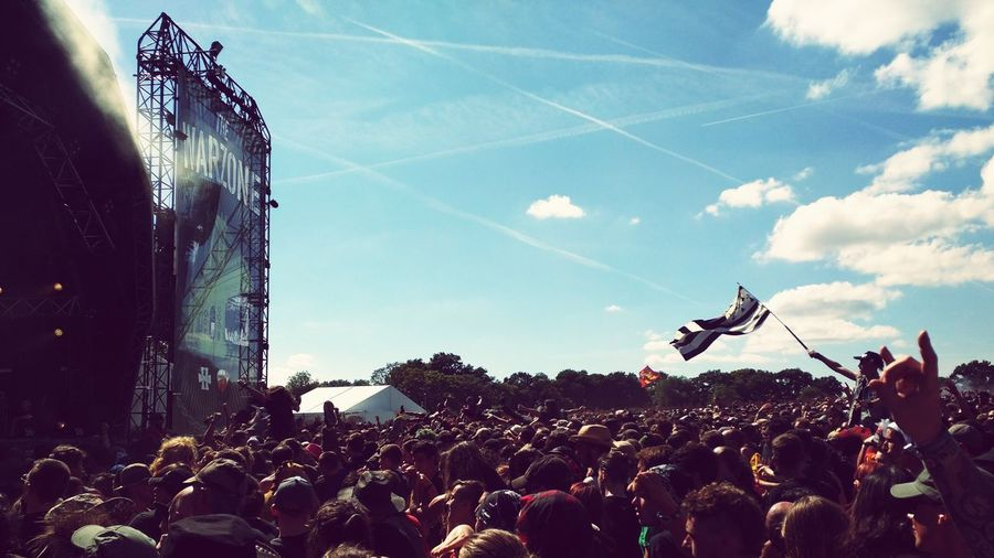Welcome to the WarZone — Hellfest2015 Hellfest Bretagne