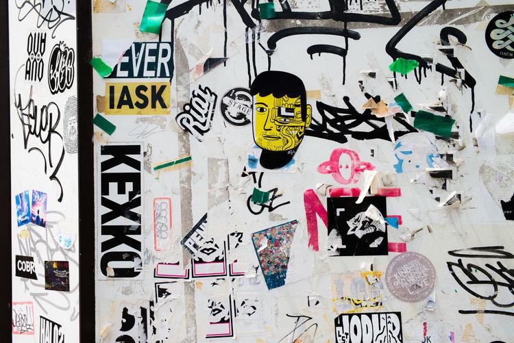 The Still Life Photographer - 2018 EyeEm Awards Graffiti Korea Nikon Paint The Town Yellow Sticker Graffiti Art Yellow