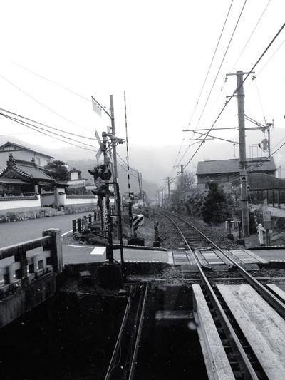Train Japan Train Tracks Be. Ready. EyeEmNewHere