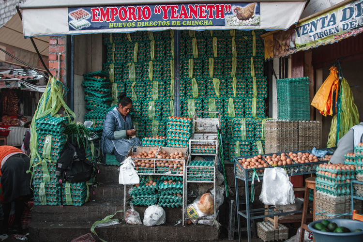 Exploring the street market just south of the San Pedro Market. Andes Backpacking City Cityscape Exploring Inca Latin America Choice Colonial Day Discover  For Sale Freshness Large Group Of Objects Market Market Stall Real People Retail  Retail Display Sale South America Street Market Travel Destinations Urban Variation The Street Photographer - 2018 EyeEm Awards The Traveler - 2018 EyeEm Awards