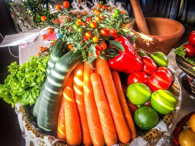 ผัก ผลไม้ ผลไม้ ผัก Healthy Eating Vegetable Food And Drink Food Wellbeing Freshness High Angle View EyeEmNewHere