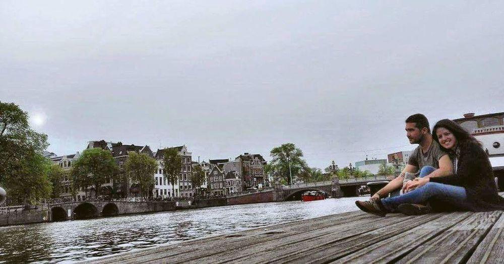 Amesterdam Canal Water Beauty Love ♥ Lovely Boat Trip Heaet Of The Lake