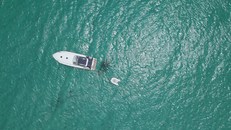 spy to the blue 90 Degrees Aerial Shot Blue Sea Canvas Print Drone  Aerial View Day High Angle View Nature Nautical Vessel No People Outdoors Sailing Sea Transportation UnderSea Wake - Water Water Yacht