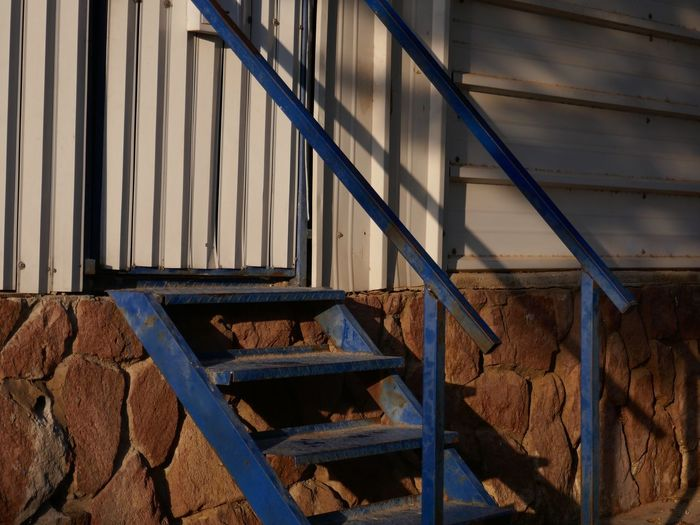 Architecture Built Structure Day Metal No People Staircase Sunlight Shadow Steps And Staircases Railing Outdoors Wall - Building Feature Building Exterior Rusty Pattern Close-up