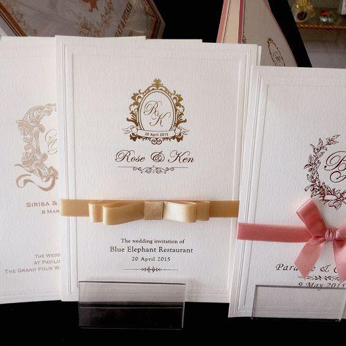 ร้านการ์ดแต่งงานชื่อดังถนนวัชรพล
