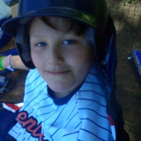 Happy Boy Loves Baseball Sunday Letsplay Instamoment Instasport EnjoyTheMoment Picture Instasport