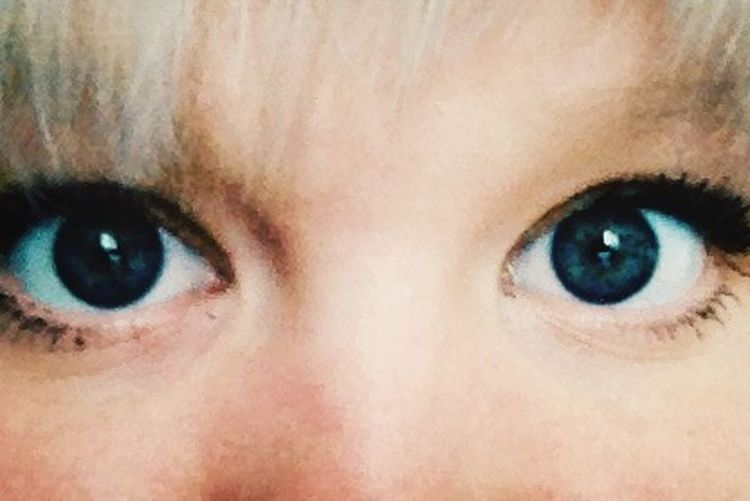 Eye See You Blue Eyes Blond Hair Netherlands