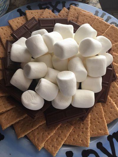 Smores Food Dessert Grahamcrackers Marshmallows Yummy