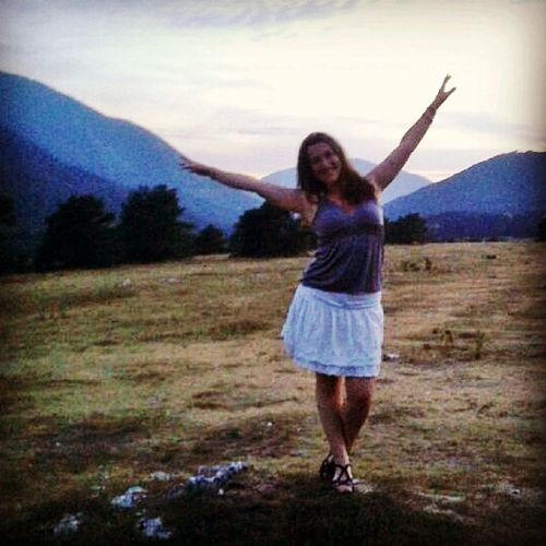 Sunset Freedom Mountains Holidays Sista4ever Caille Grattemoine