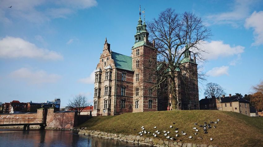Copenhagen Copenhagen, Denmark Copenhagen Denmark Denmark Denmark Copenhagen Danish Rosenborg Rosenborg Slot Danish Nature Danish Design Danish Culture Danish Architecture Winter Travel Tower View Rosenborg Castle City Water History Sky Architecture Building Exterior Built Structure Cloud - Sky