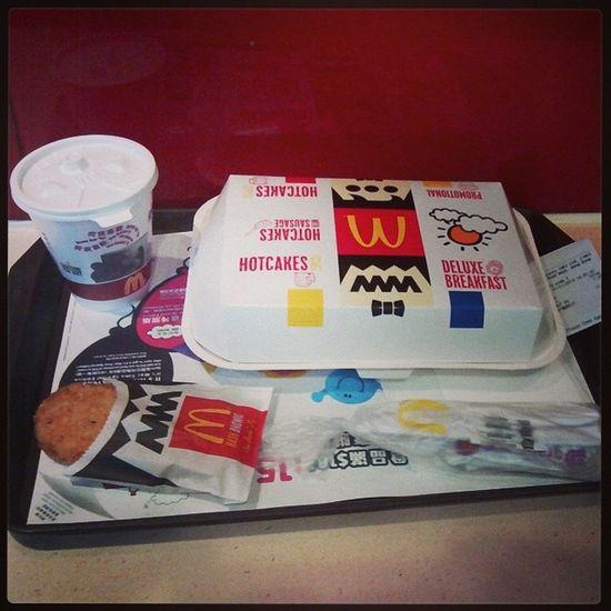 遊行前醫肚先 Alldaybreakfast McDonald 's Hkig