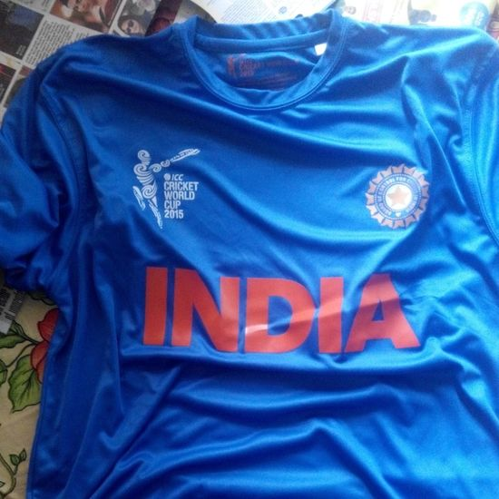 Bleedblue  TeamToDieFor India BCCI ICC MSDhoni IndvsAus8hourstoGo So Excited Cricket