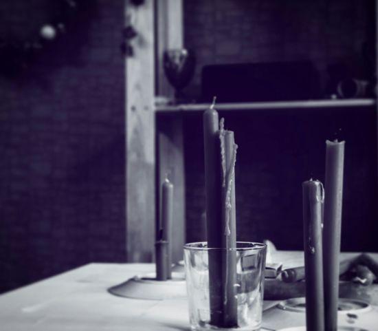 #cold Day свеча Blackandwhite
