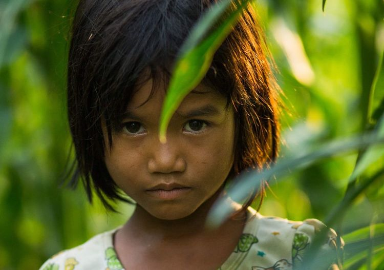 Little girl Mnong in Vietnam Rehahnfotography Rehahnphotography Vietnam
