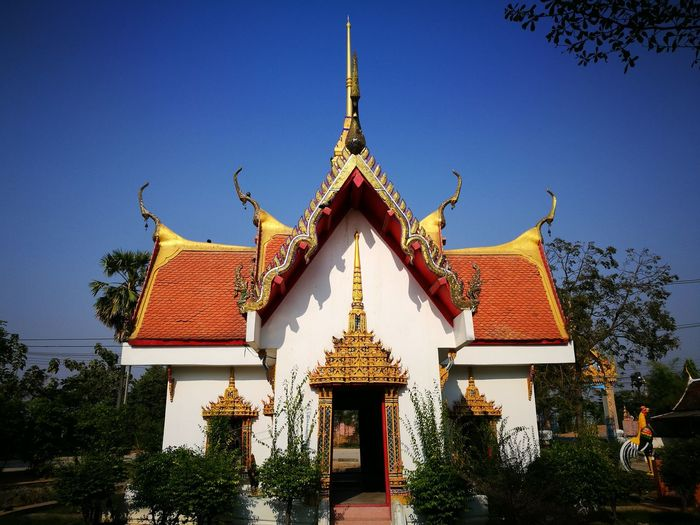 Tample Architecture Outdoors No People Sky Day Building Exterior Tree