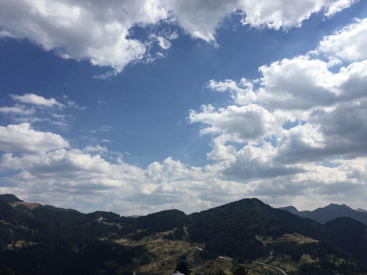 Idyllic Shot Of Landscape Against Sky