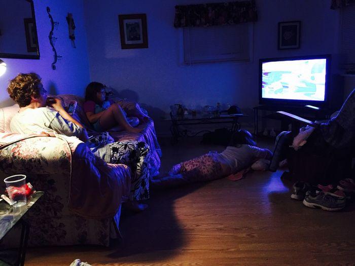 Movie night... Relaxing Enjoying Life Hanging Out