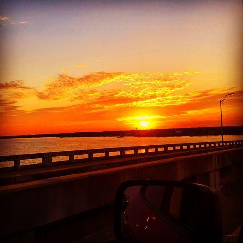Florida sunset drive Pensacola Pcola Travel Traveling Pensacola Beach VisitPensacola UpsideofFlorida Florida Panhandle LoveFl Florida Enjoying Life Sunset Sunset_collection Sunset #sun #clouds #skylovers #sky #nature #beautifulinnature #naturalbeauty #photography #landscape Commute