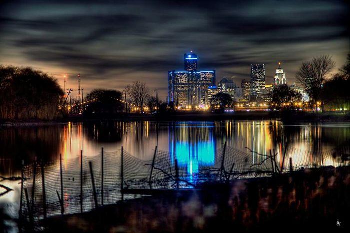 Detroit sky line