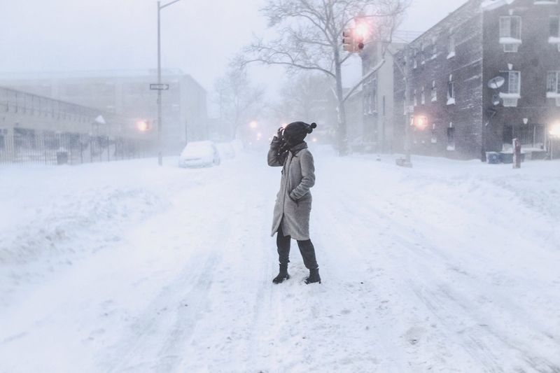 Bracing the Blizzard with Steph Snowstorm Eye4photography  Blizzard2016 Miamor♥ EyeEm Best Shots Streetphotography Life NYC Eyeemphotography Bedstuy Brooklyn Snow Hello World Snowday Shopping Snowbound New York Adventure Throwback Friday Jonasblizzard
