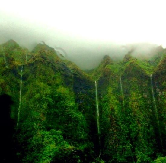 Enjoying The View Waterfalls #luckyiliveinhi