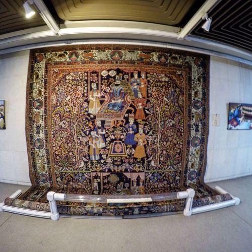 Iran Art Exhibition Rug Carpet Hand Made ArtWork Artist Arts