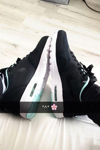 My new babys Nike Nike Airmax Fashion Shoes Black First Eyeem Photo