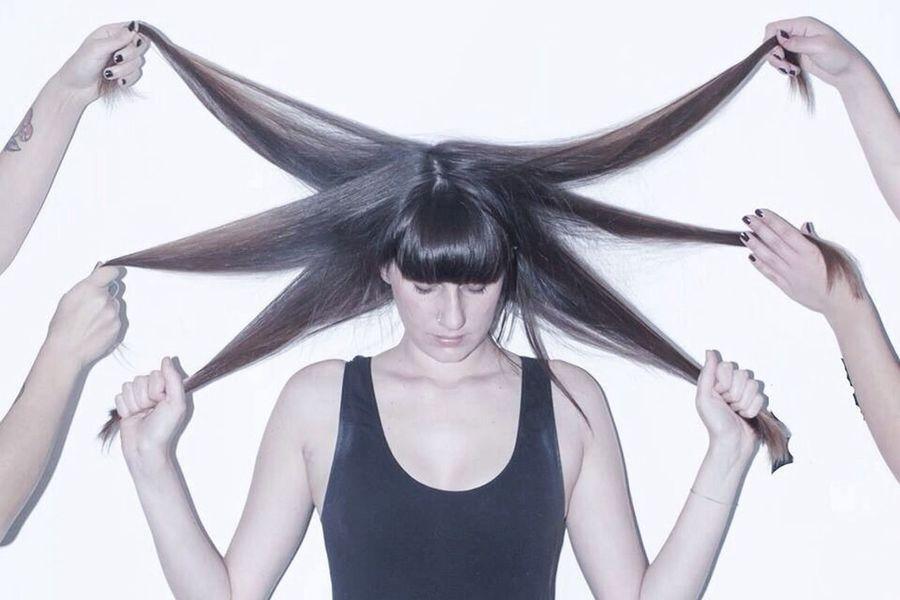 Veronique The EyeEm Facebook Cover Challenge EyeEm Wearegrryo Shootermag Let Your Hair Down
