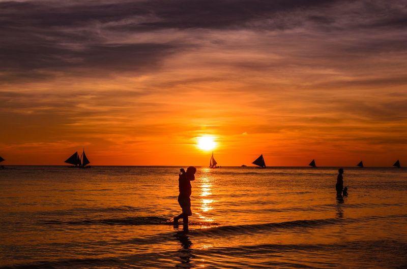 Serene Sunsets