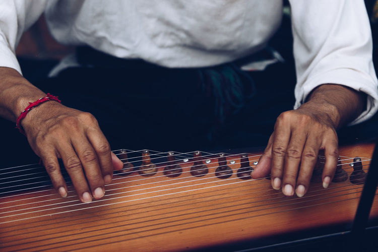 Arts Culture And Entertainment Close-up Human Hand Midsection Music Musical Instrument One Person People