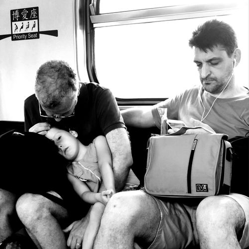 Family Love♥ Real People Men Sitting Males  Indoors  Lifestyles Adult Travel First Eyeem Photo 50 Ways Of Seeing: Gratitude