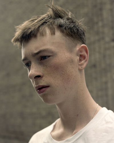 Finbar - 2018 Adolescence  Boys Child Close-up Contemplation Focus On Foreground Front View Hairstyle Headshot Human Face Looking Looking Away Males  One Person Portrait Real People Teenage Boys Teenager Young Adult The Portraitist - 2018 EyeEm Awards