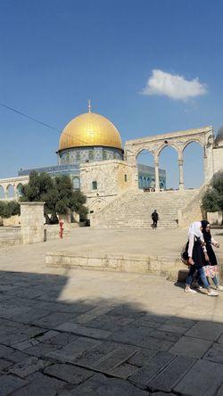 Dome of the Rock, Jerusalem.... Dome Of The Rock Jerusalem Architecture Built Structure Religion Jerusalem Travel Destinations