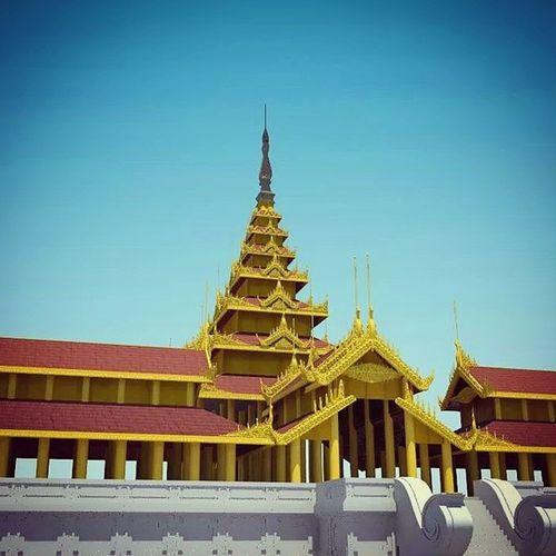 Mandalay Palace Highpoly 3D 3dmodel Myanmar Burma Autodeskmaya Autodesk Maya2014 Millions Polygons Mandalaypalace Royalpalace Yangon Photoshop Maya