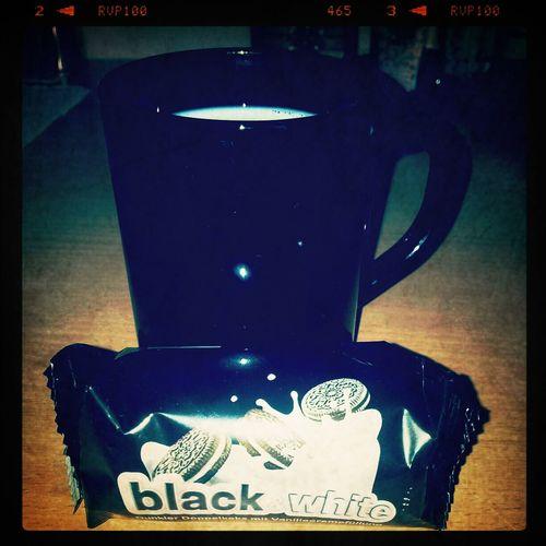 black and white diesdas Blackandwhite Yummy!!