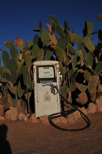 Close-up of telephone outdoors