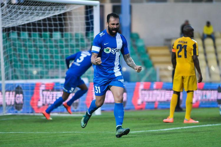 Ael FC wins 5-2 against Ethnikos Achnas a game for Cyta Championship Cyprus at Tsirio Stadium in Limassol on 06.03.2016 06.03.2016 5-2 AEL FC Championship Cyprus Cytadela Ethnikos Achnas Matchday