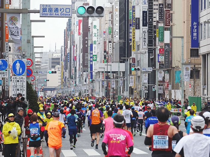Japan Photography Marathon Large Group Of People Crowd City Crowded City Life Real People Architecture Building Exterior People Outdoors Day