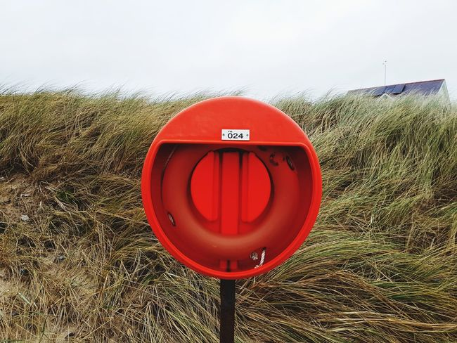 Red Text Safety Communication Day No People Accidents And Disasters Rescue Outdoors Sky Beach Trearddur Bay Beach