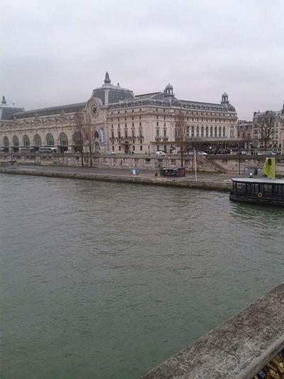 Paris River Seine Buildings Paris View