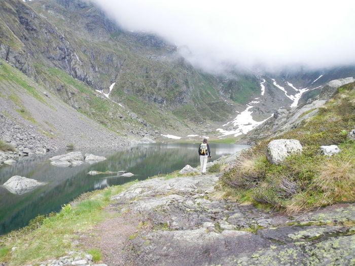 Hiker on