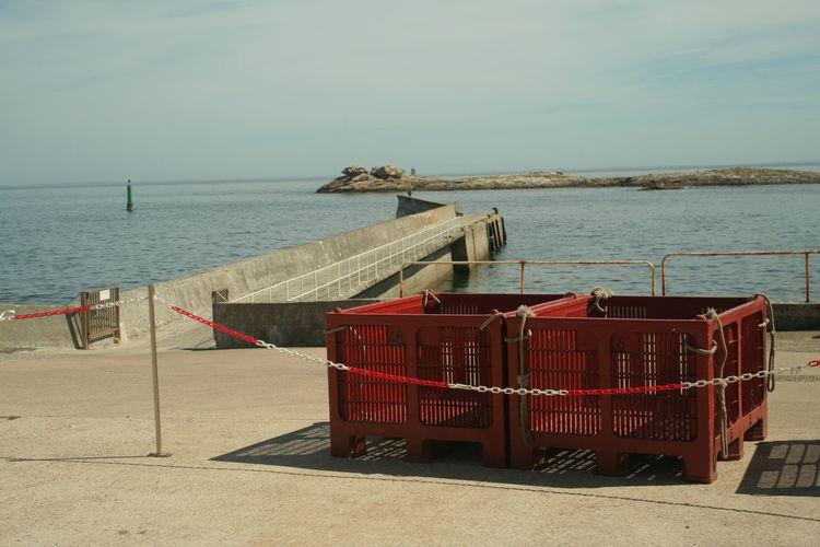 Île de Sein (France), 2010 Atlantic Ocean Harbor Island, Pier Built Structure Fishing Isles Nature No People Ocean Red Sea Transportation Water île De Sein