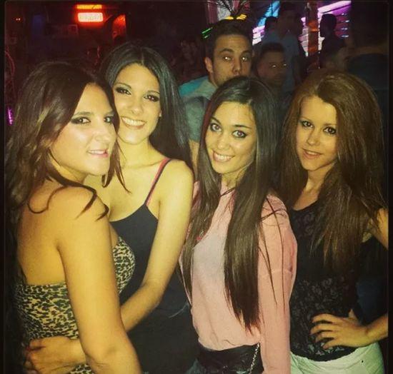 Party time in Malalts de Festa! Summer'14 Party Time Melany, Soraya, Sandra & Mika