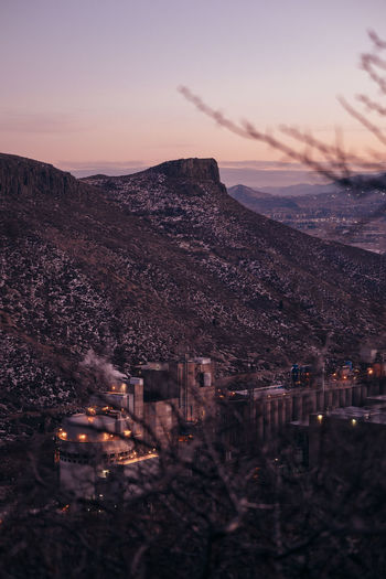 View of the Coors Brewery from Table Mountain (Find me on IG @noeldxng) Be. Ready. Perspectives On Nature Architecture Beauty In Nature Beauty In Nature Built Structure Coors Illuminated Landscape Mountain Nature Night No People Outdoors Sky Sunset