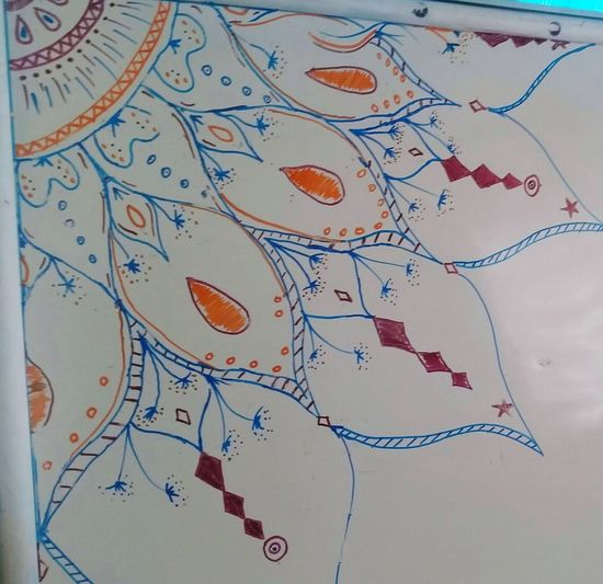 My little creation. ArtWork Mandala Drawing inspired by Newhabits