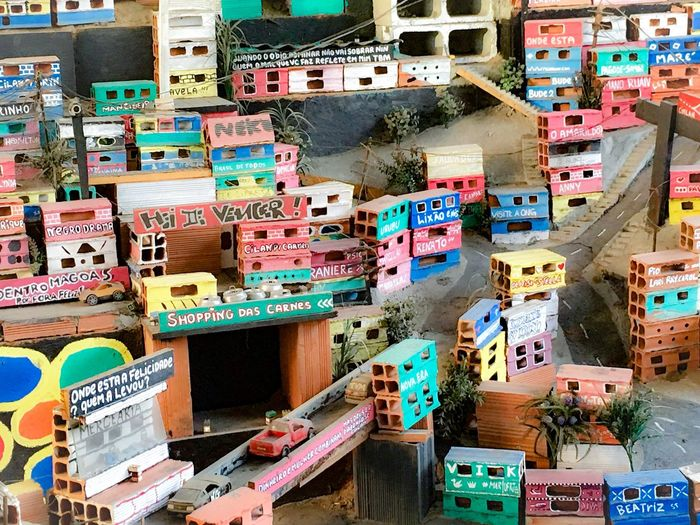 Art Is Everywhere Architecture Outdoors City No People Day Multi Colored Building Exterior Cityscape Museum Favela