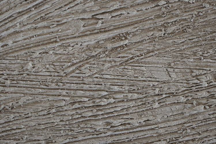 Plaster Concrete Backgrounds Sand Full Frame Textured  Beach Pattern Textile Track - Imprint Close-up Cement