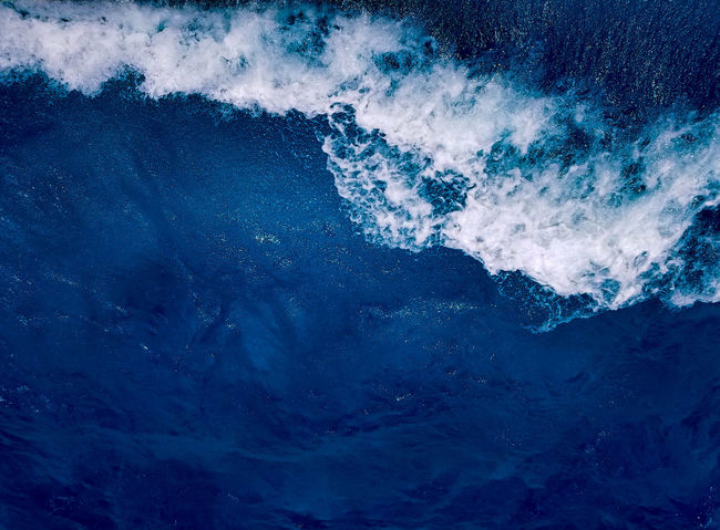 Blue Abstract Backgrounds Water No People Outdoors Nature May 2017 Spring Springtime Cancun Mexico Isla Mujeres Mexico Trapical Climate Textures Waves White Scenics Ocean Saltwater Motion Travel Blue Water Explore Looking Down The Week On EyeEm