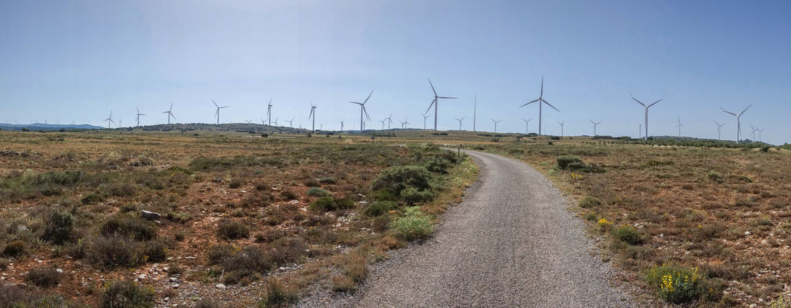 Alternative Energy Barracas Castellón Day Environmental Conservation Field Fuel And Power Generation Grass Industrial Windmill Landscape Nature No People Outdoors Renewable Energy Rural Scene Sky Technology The Way Forward Traditional Windmill Wind Power Wind Turbine Windmill